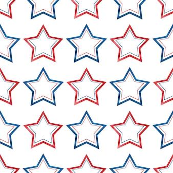 별과 아름다운 패턴입니다.