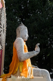 Beautiful picture of buddha statue in thailand