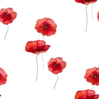 ポピーの花の美しい写真。幸せな追悼の日。クローズアップ、上面図。国民の祝日の概念。家族、親戚、友人、同僚の皆さん、おめでとうございます