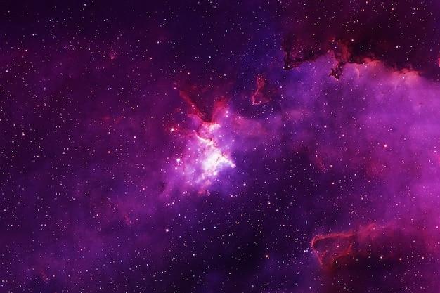 美しいピンクの銀河。この画像の要素はnasaによって提供されました