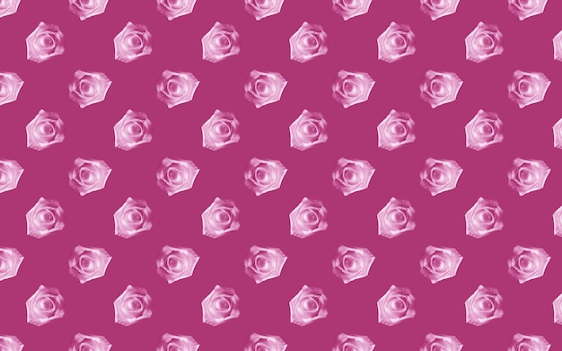Beautiful pink rose flowers. blooming roses seamless pattern. floral natural background.