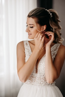 花嫁の美しい肖像画