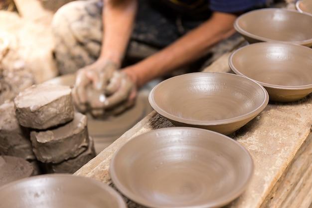 Изготовление красивой керамики в таиланде