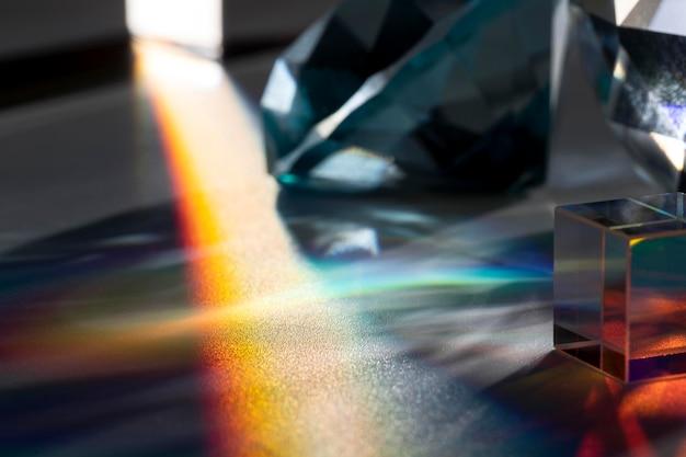 Beautiful prism light concept