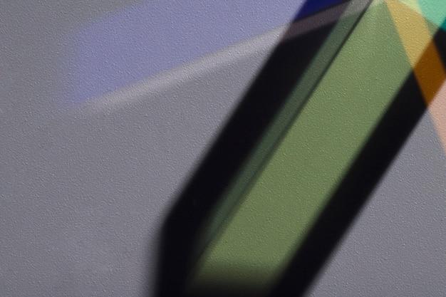 Bellissimo concetto di luce prisma