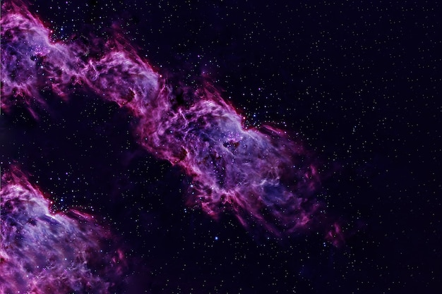 深宇宙の美しい紫色の銀河nasaから提供されたこの画像の要素
