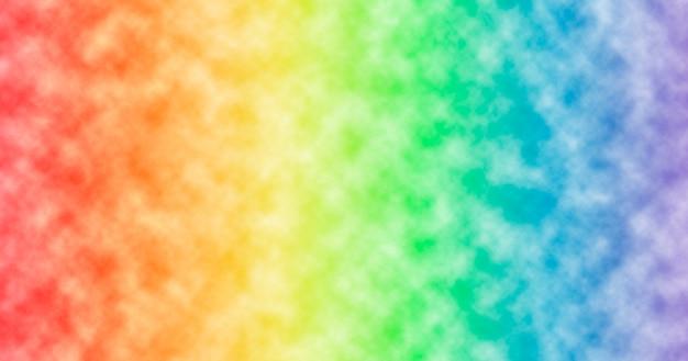 Красивый фон цвета радуги с белыми пятнами.