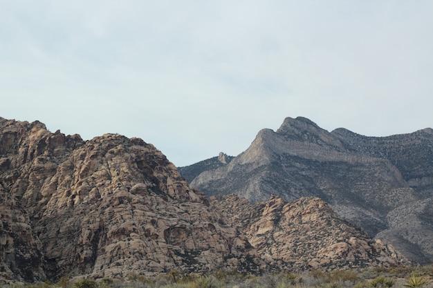 Красивый красный рок каньон, принятый в неваде
