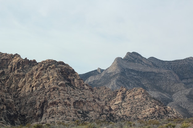Beautiful red rock canyon taken in nevada