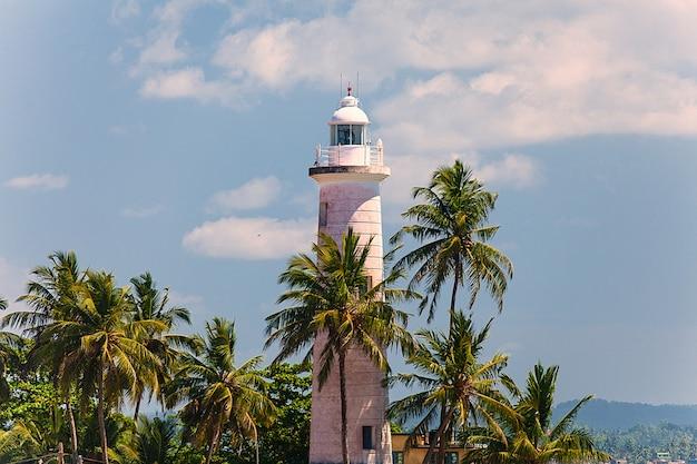 Beautiful retro lighthouse