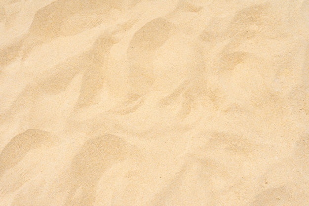 夏の美しい砂の自然の質感