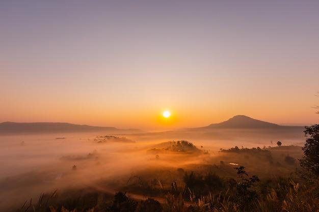 タイのカオタキアンゴの美しい風景