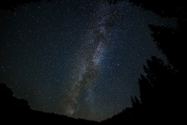Beautiful scenery of the milky way galaxy - great for a cool  background