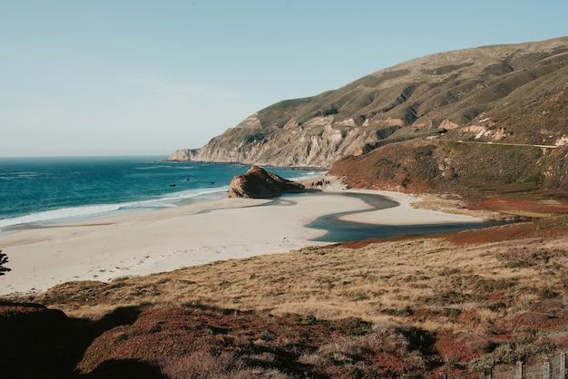 アメリカ、インバーネスのポイントレイズ国立海岸の美しい風景