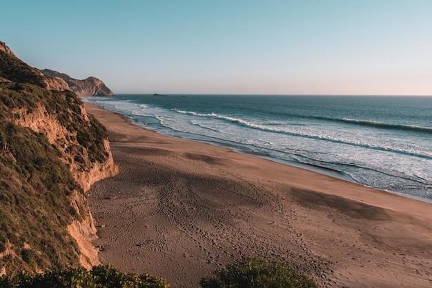 インバネスのポイントレイズ国立海岸の美しい風景