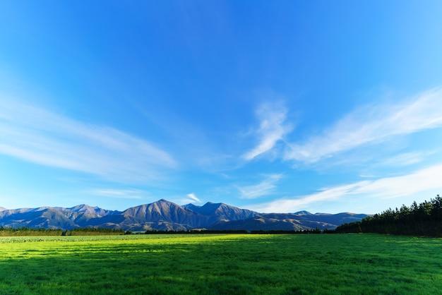 ニュージーランド南島、秋のアーサーズパス国立公園の美しい風景