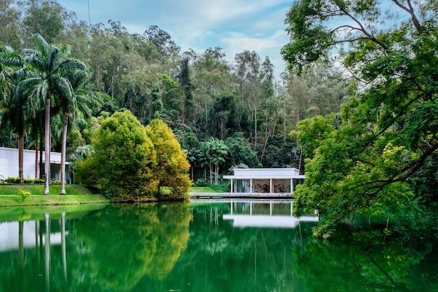 ブラジルのベレン市にあるマンガルダスガルカス公園の美しい風景