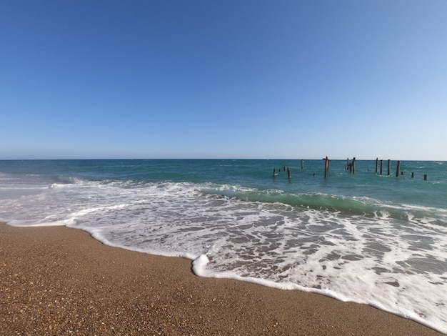 美しい海とビーチ