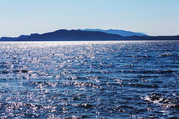 Красивое морское побережье в турции