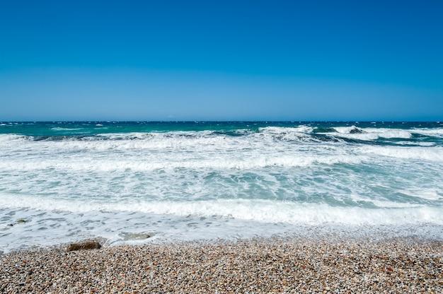 Beautiful sea of naxos