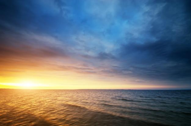 아름다운 바다 경치
