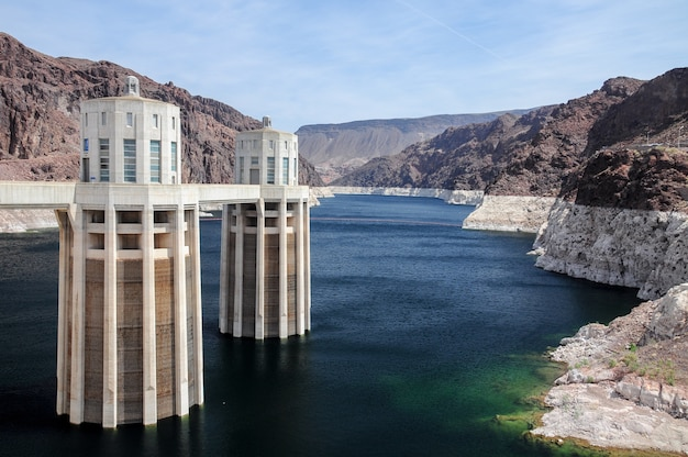 Beautiful shot of hoover dam in nevada, usa during daytime