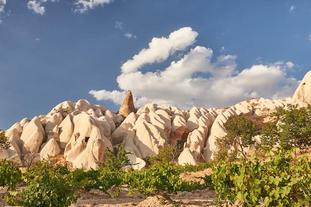Красивый снимок горы под голубым небом в дневное время в турции