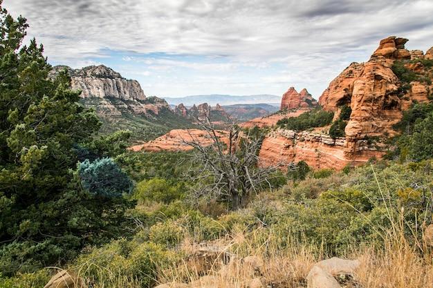 Beautiful shot of the sedona, arizona
