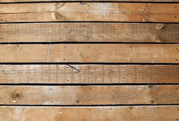 Bella ripresa di una parete in legno