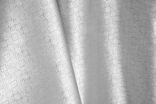 美しいシルクシルク。礼儀の繊維の背景。
