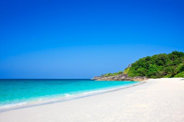 아름다운 시밀란 섬, 태국, 푸켓.