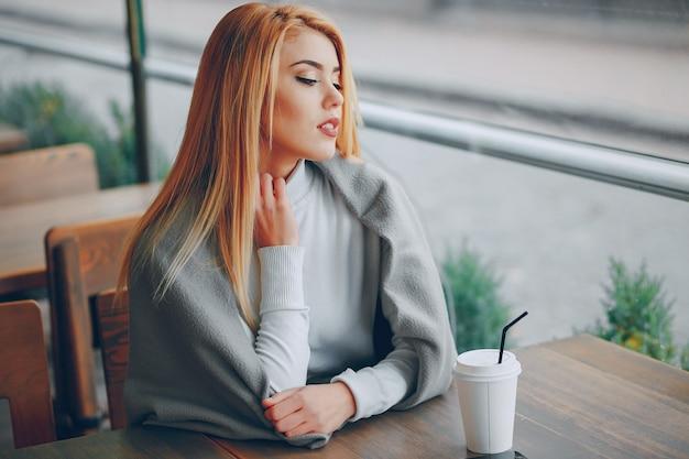 Beautiful sit joy autumn blonde
