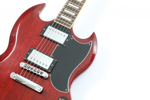 아름 다운 6- 문자열 일렉트릭 기타 절연