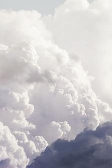 Красивое небо с облаком.