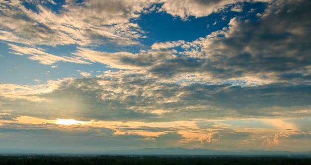 Beautiful sky with clouds background, sky with clouds weather nature cloud blue,