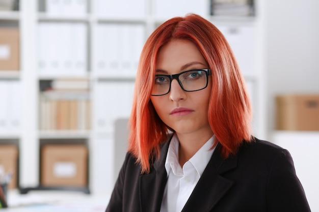 Beautiful smiling businesswoman portrait