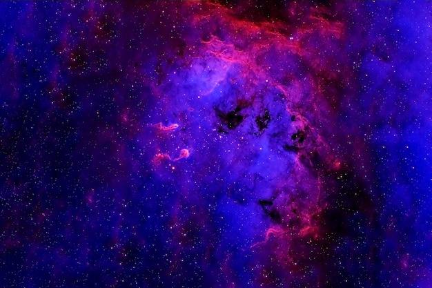 Красивая космическая туманность элементы этого изображения предоставлены наса. для любых целей.