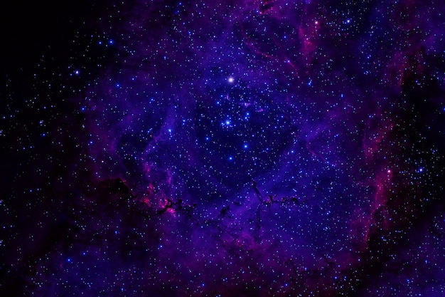 Beautiful space with stars and galaxies.
