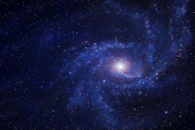 この画像の美しい渦巻銀河の要素は、nasaによって提供されました