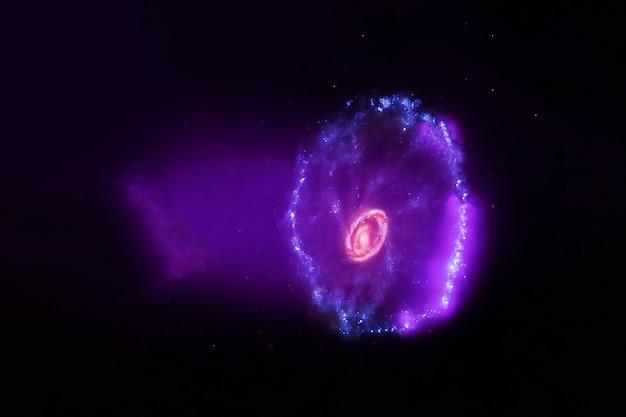 Красивые элементы спиральной галактики на этом изображении были предоставлены наса.