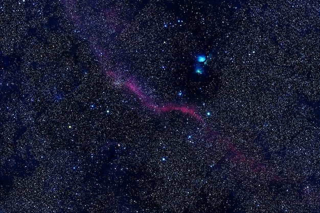 Beautiful starry background. elements of this image were furnished by nasa. high quality photo