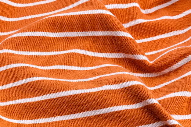 Beautiful summer background made of striped twisted and wrinkled