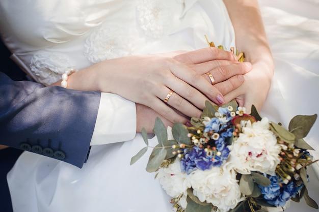 Beautiful summer wedding bouquet flowers for girls