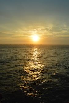 아름다운 일몰