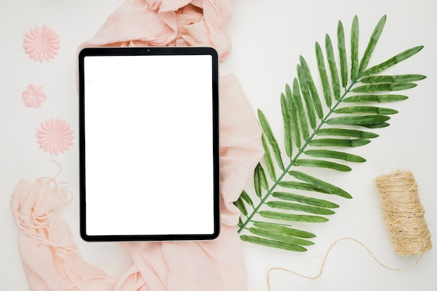 Beautiful tablet template for wedding