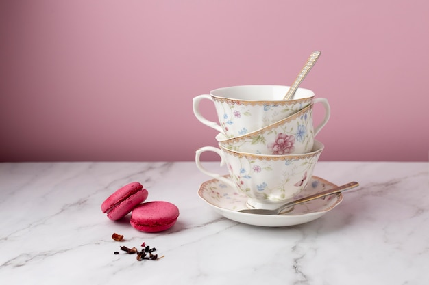 Beautiful tea party assortment