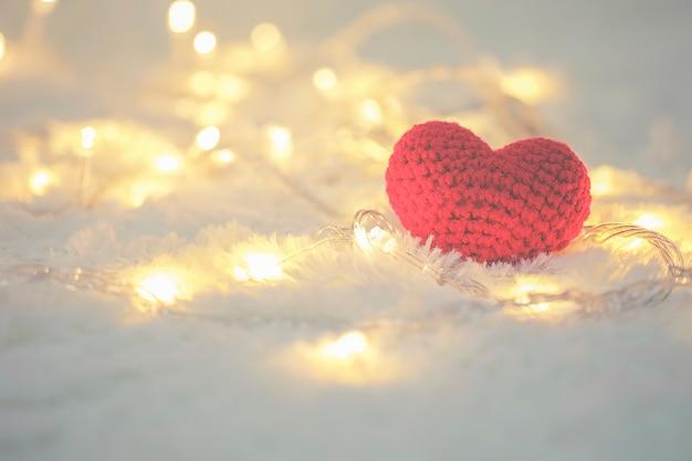 아름다운 텍스트 휴일 빛나는 배경 로맨스