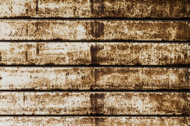 Красивая текстура из гранж ржавые полосы. горизонтальный. шаблон. ржавый фон.