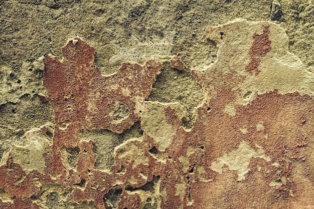 아름 다운 질감 오래 된 벽, 가로 금이. 공간을 복사하십시오. 텍스트를위한 여유 공간.