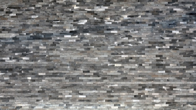 Beautiful textured of old black bricks wall background.